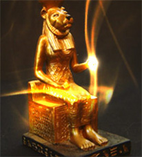 The-Goddess-Sekhmet Sekhem